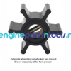 Jabsco impeller 673-0001